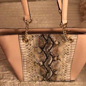 Calvin Klein snakeskin bag